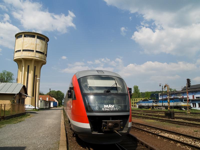 A MÁV 6342 011-1 Füleken fotó