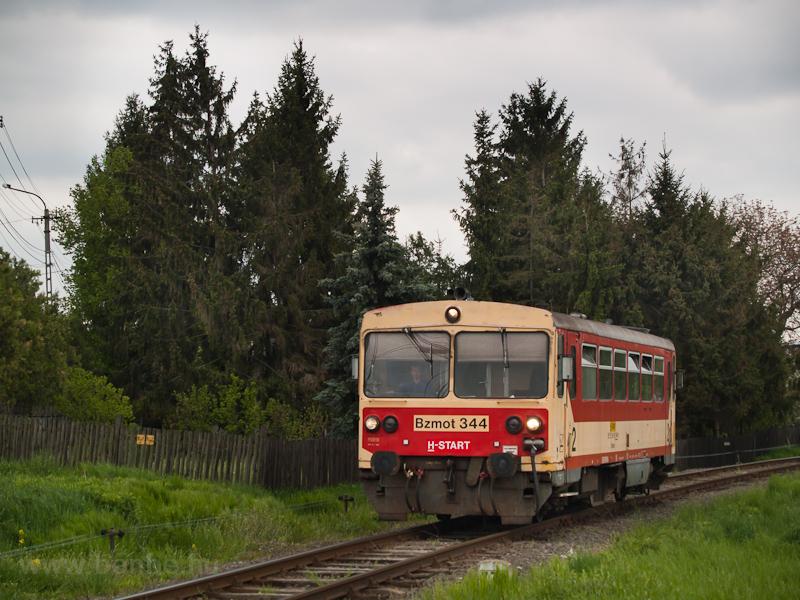 Az Bzmot 344 Szécsényben fotó