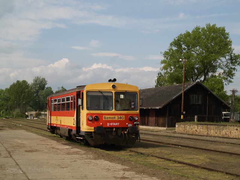 A Bzmot 340 Szécsényben fotó