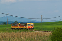 The Bzmot 342 seen between Szécsény and Hugyag