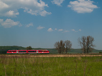 The 6342 011-1 Desiro between Rárós and Litke