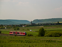 The 6342 011-1 Desiro between Ipolytarnóc and Kalonda (Kalonda, Slovakia)