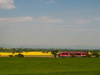 A 6342 011-1 p�lyasz�m� Desiro motorvonat Kalonda �s Rapp k�z�tt, Szlov�ki�ban