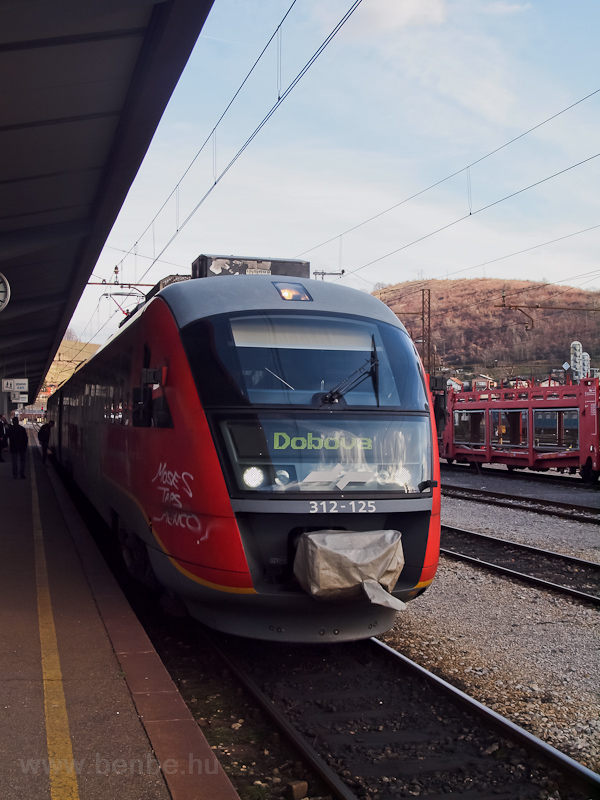 A 312-125-ös Desiro Mariborban fotó