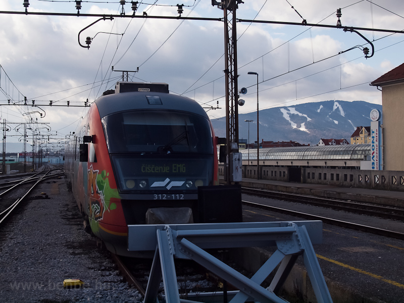 A 312-112-ös Desiro Mariborban fotó