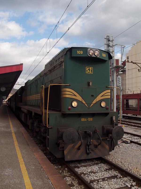A 664-109 Mariborban fotó