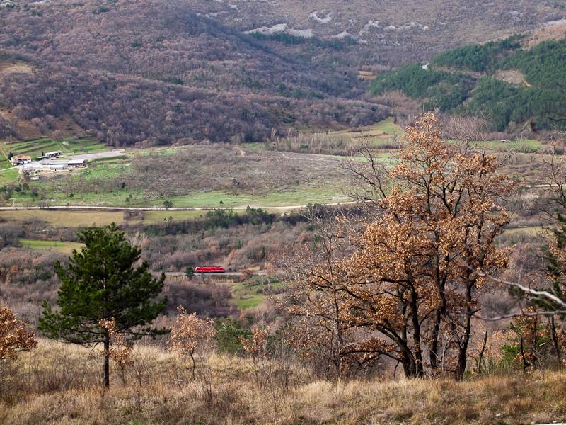 Egy 541-es a völgyi szakasz fotó