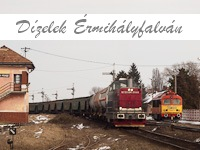 Diesels at Valea lui Mihai