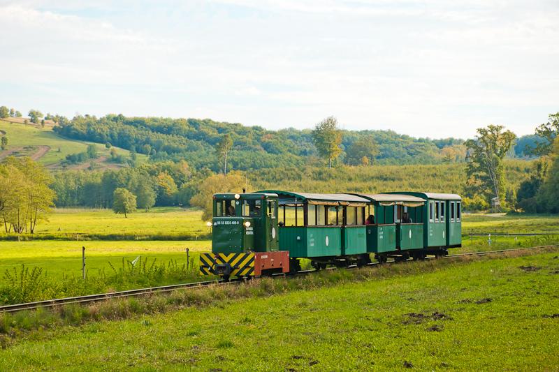 A Csömödéri Erdei Vasút 8235 409-0 Kányavár és Dömefölde között személyvonattal fotó