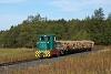 A Csömödéri Erdei Vasút C50 405 tehervonattal pózol a fotósoknak Nyírlakos és Bánokszentgyörgyi elágazás (Víznyomó) között