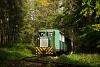 A Csömödéri Erdei Vasút 8235 409-0 Meretai elágazás és Várfölde között személyvonattal