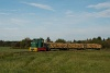 A Csömödéri Erdei Vasút C50 405 Iklódbördőcei temető és Csömödér ÁEV között