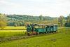 A Csömödéri Erdei Vasút 8235 409-0 Kányavár és Dömefölde között személyvonattal