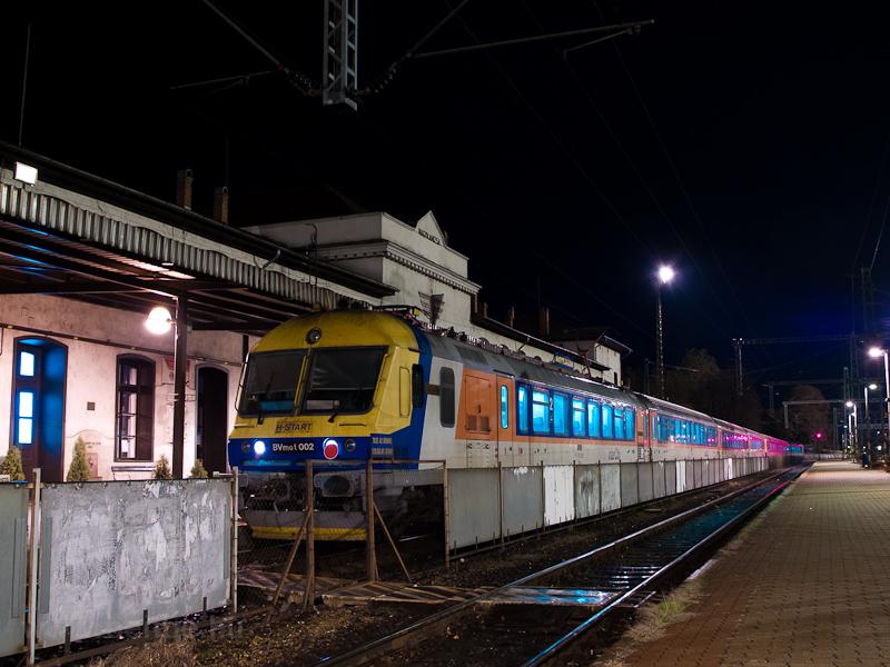 A MÁV-START BVmot 002 Nagyk fotó