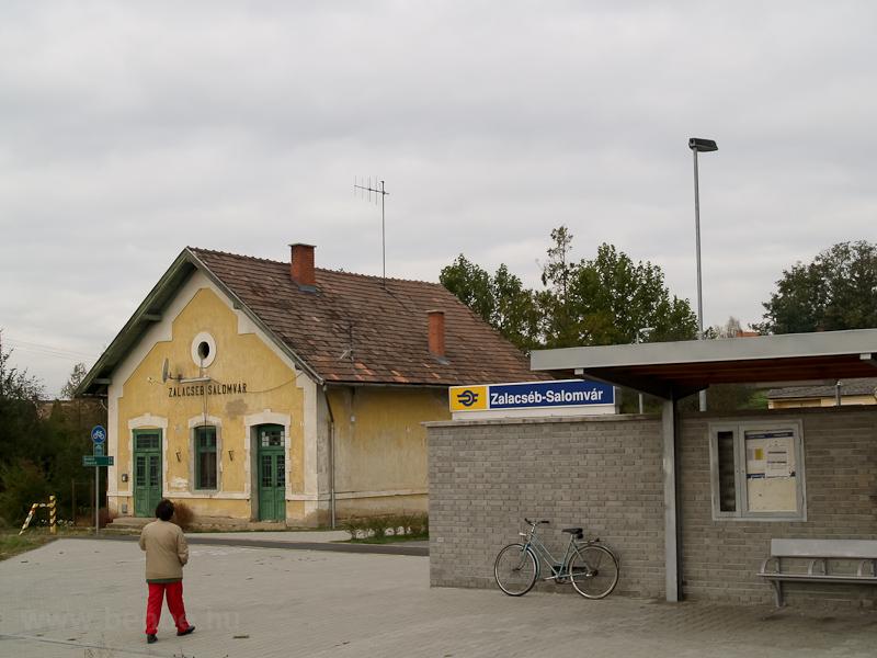 Zalacséb-Salomvár állomás r fotó
