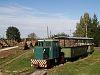 A Mesztegnyői Erdei Vasút egyik C50-ese a mesztegnyői fatelepen