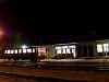 A MÁV-START Bzmot 390 Zalaszentmihály-Pacsa állomáson várakozik keresztre
