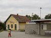 Zalacséb-Salomvár állomás régi és új épülete