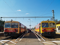 The Bzmot 239 and the Bzmot 221 seen at Somogyszob