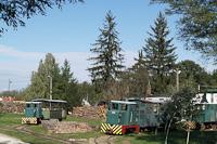 Mesztegnyő, erdei vasúti állomás