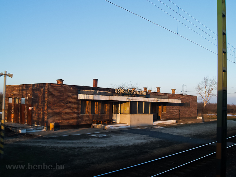 Csór-Nádasdladány station photo