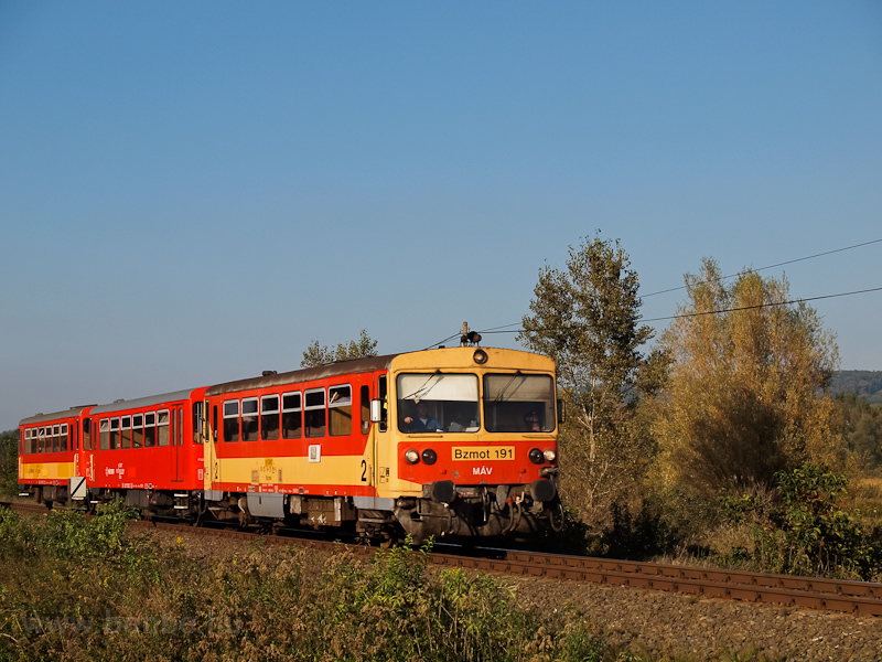 The MÁV-START Bzmot 191 see photo