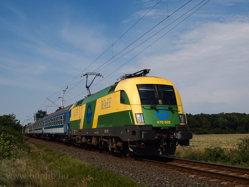 The GYSEV 470 502 seen betw photo