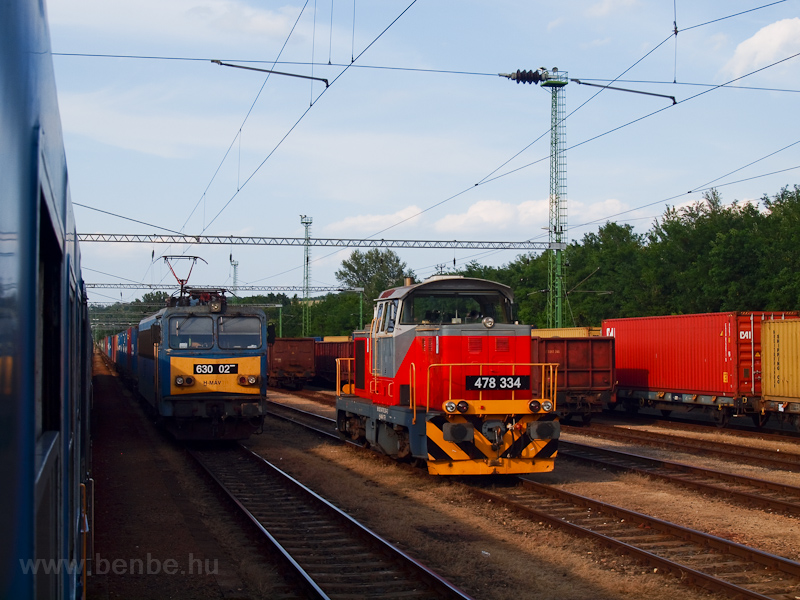 The MÁV-TR 630 027 and 478  photo