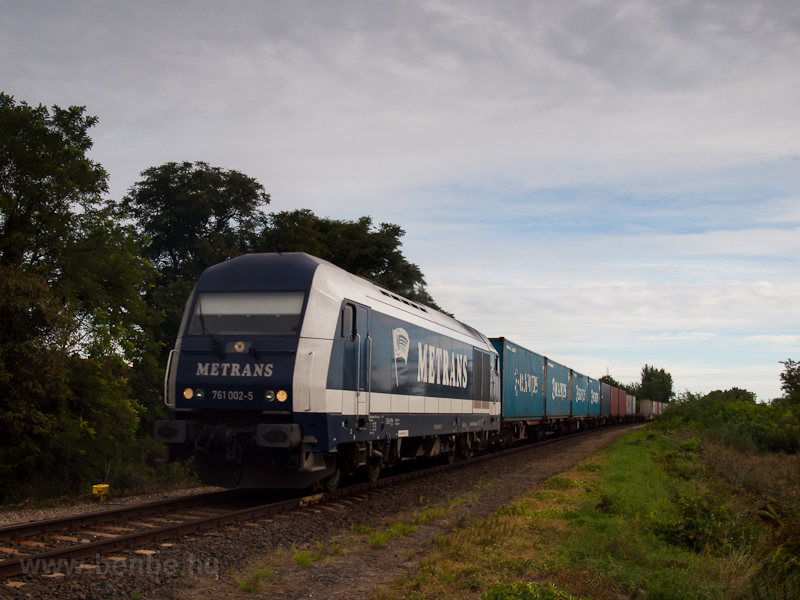 The Metrans 761 002-5 seen  picture