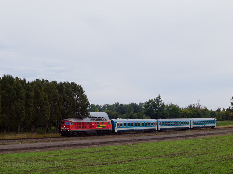 The GYSEV 651 008-0 seen between Szil-Sopronnémeti and Csorna photo