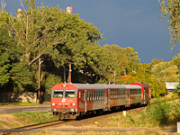 The ÖBB 80-73 001-3 seen between Sopron-Déli and Loipersbach-Schattendorf