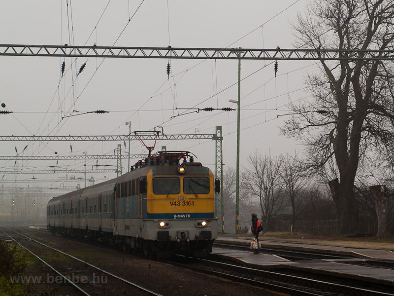 The MÁV-TR V43 3161 seen at photo