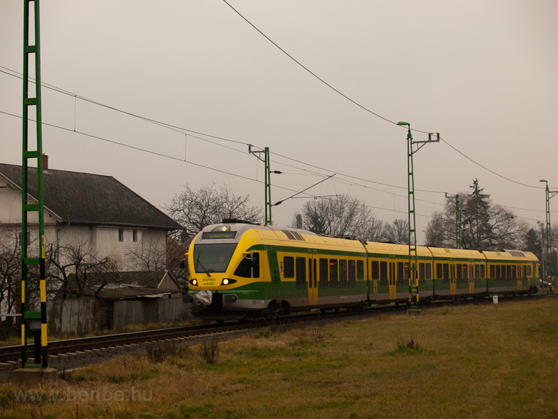 The GYSEV 415 501 seen betw photo