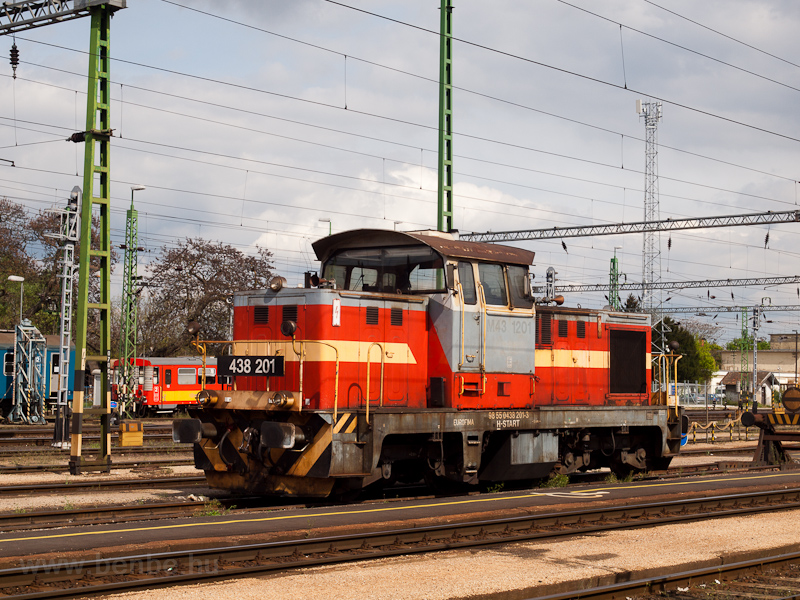 A MÁV-START 438 201 Celldöm fotó