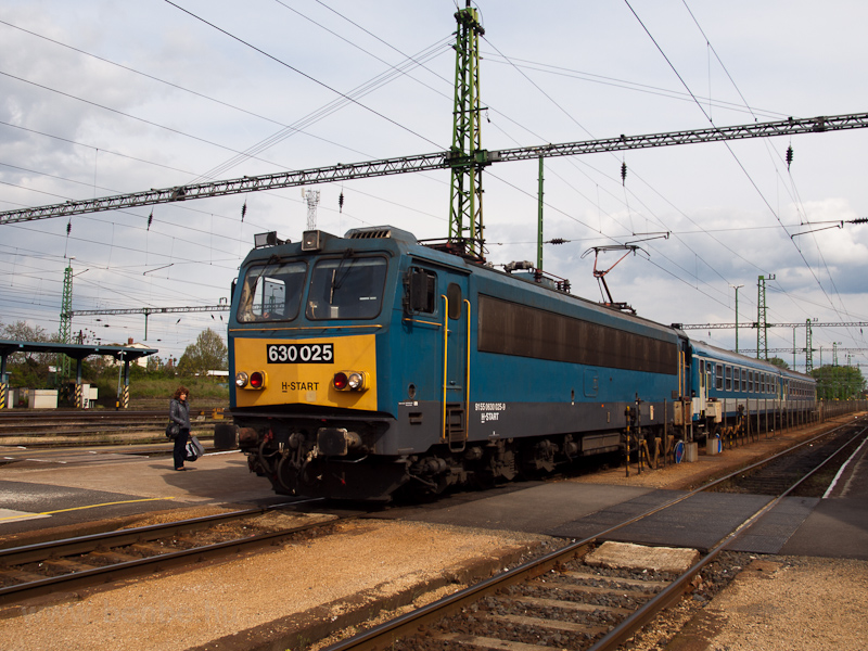 A MÁV-START 630 025 Celldöm fotó