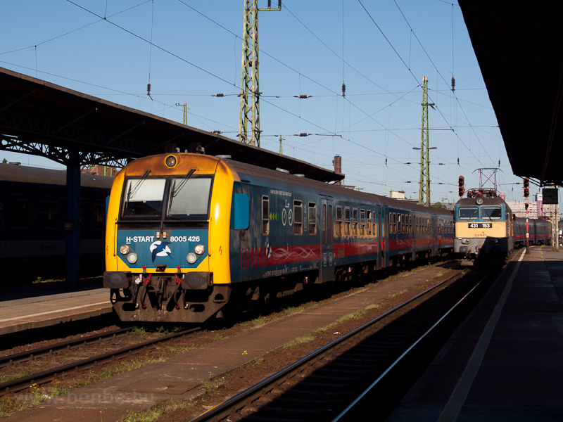 The MÁV-START 8005 426 and  photo