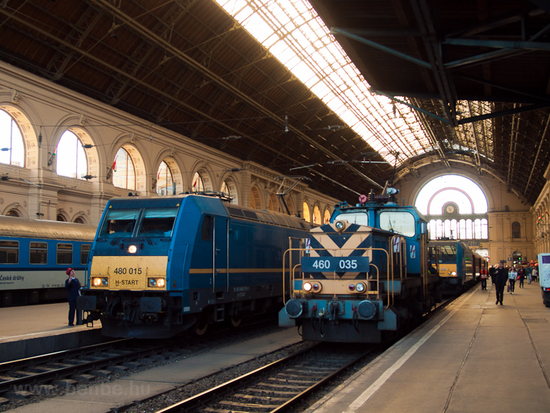 The MÁV-START 480 015 seen  photo