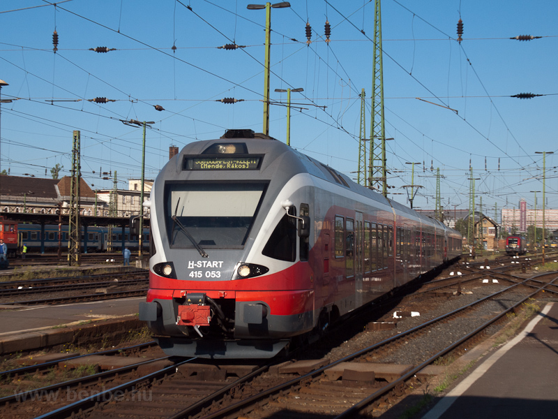The MÁV-START 415 053 seen  photo