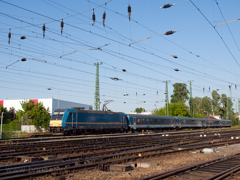 The MÁV-START 480 016 seen  photo
