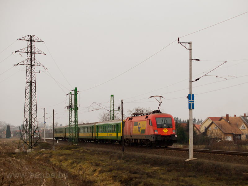 A leased ÖBB 1116 with GYSE photo