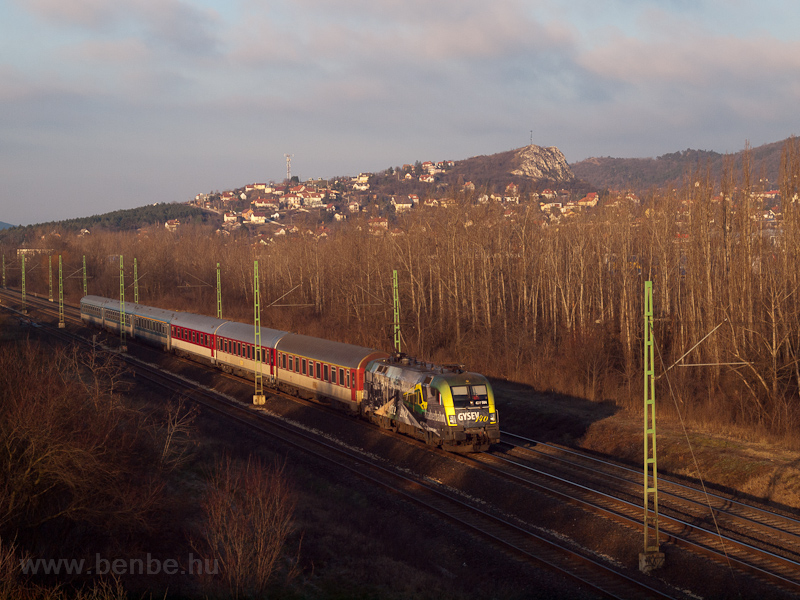 The GYSEV 470 504 seen between Törökbálint and Budaörs photo