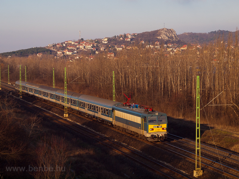 The MÁV-START 630 155 seen  picture