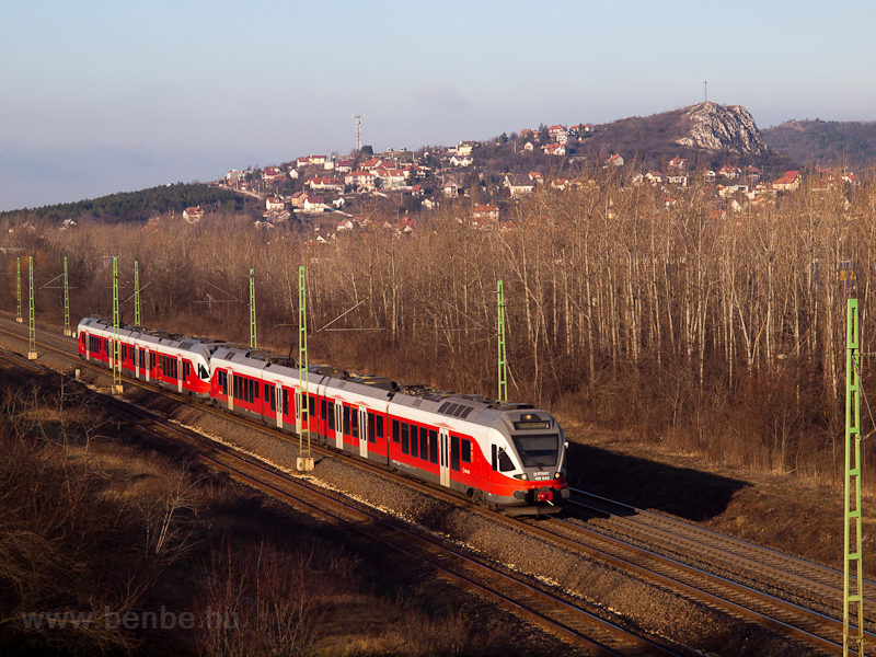 The MÁV-START 415 040 seen  photo