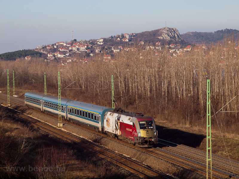The GYSEV 470 501 seen betw picture