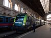 The GYSEV 470 504 seen at Budapest-Keleti