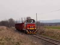 The MÁV-START 478 225 seen between Nagygyimót and Pápa