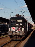 """The GYSEV 470 505 """"Páneurópai Piknik"""" seen at Budapest-Keleti"""