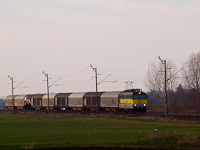 The GYSEV 430 335 seen between Farád and Csorna