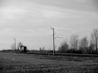 A GYSEV 448 305 Farád és Csorna között gépmenetben
