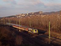 A GYSEV 470 504 Törökbálint és Budaörs között